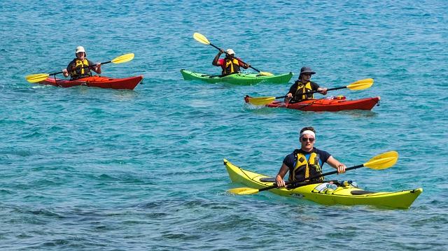 canoe kayak sport famille