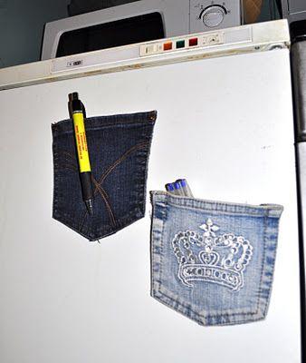 Aimant de poche pour le réfrigérateur