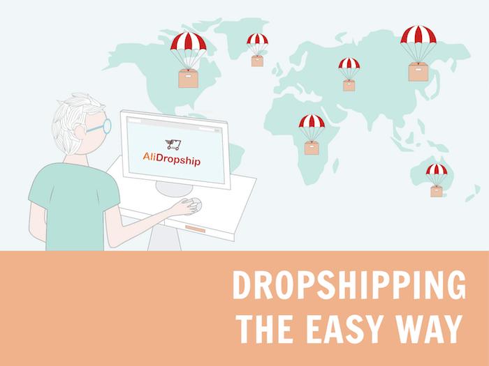 dropshipping avec AliDropship