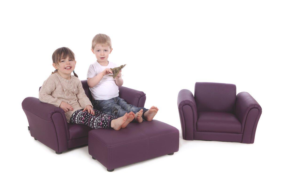 fauteuil cuir enfant