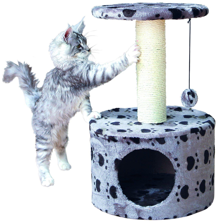 félin arbre à chat griffoir