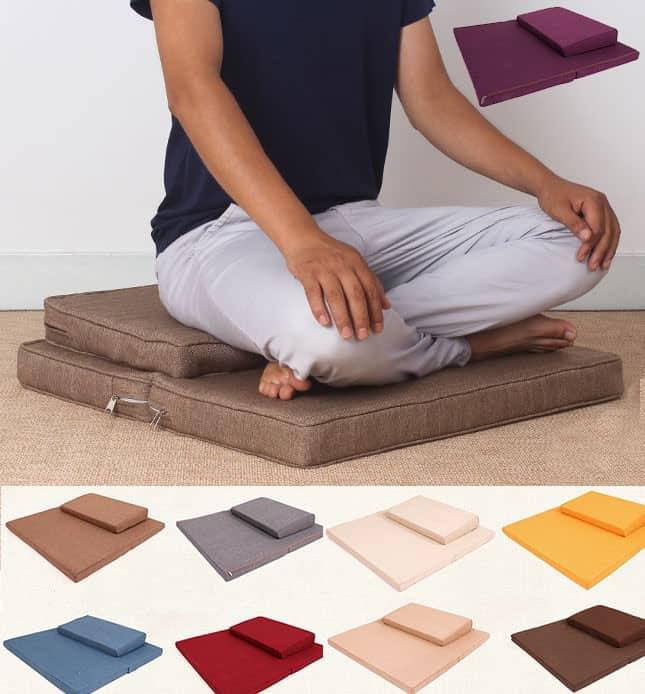 Un tapis de méditation