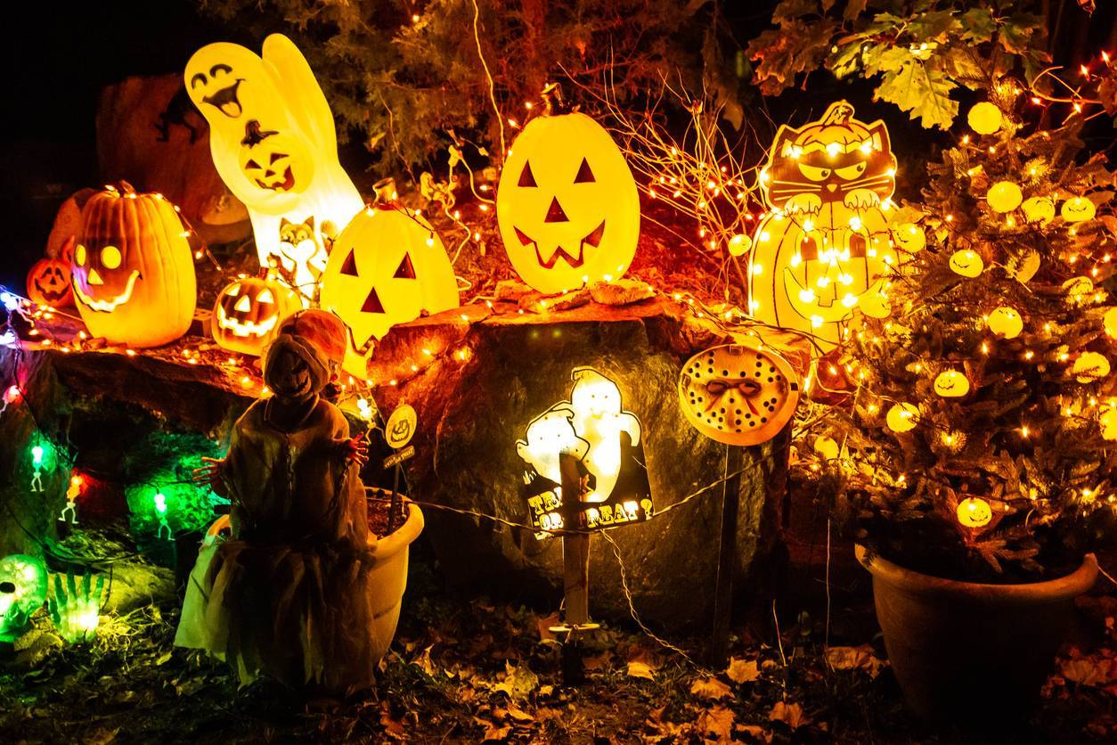 éclairage halloween
